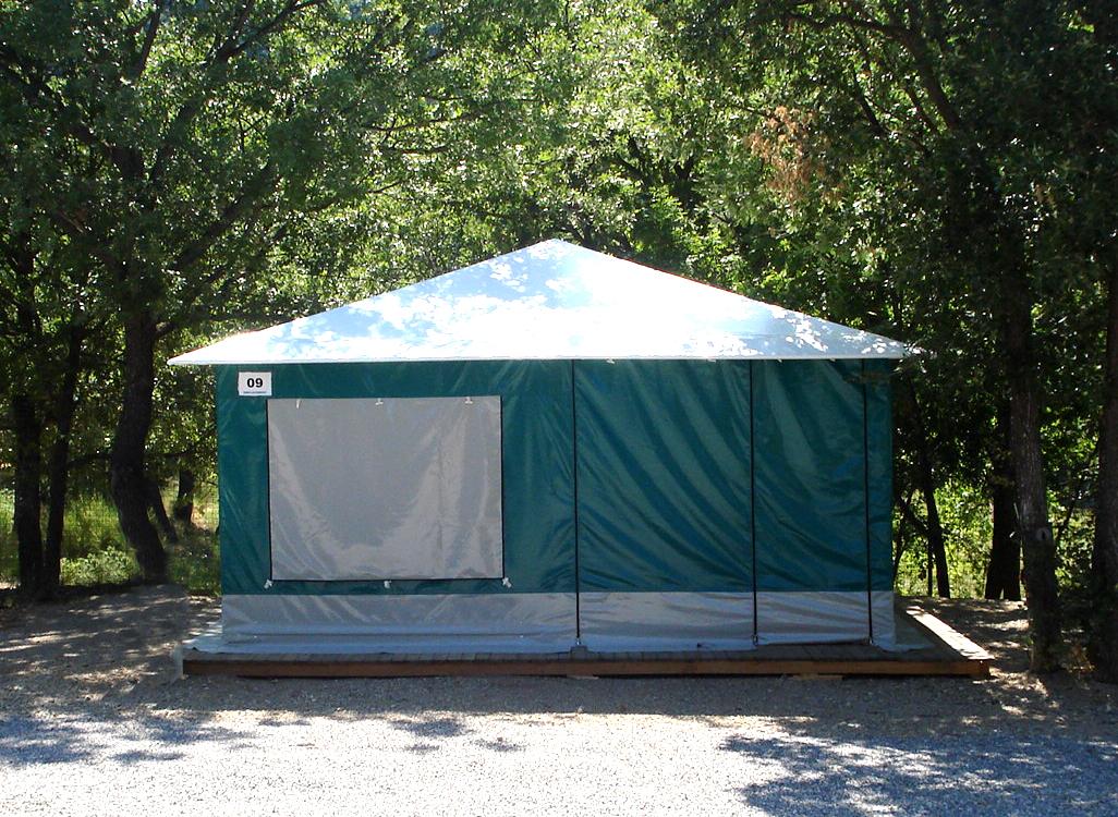 Camping Le Lac à Bauduen - Hébergement 10 - Copie
