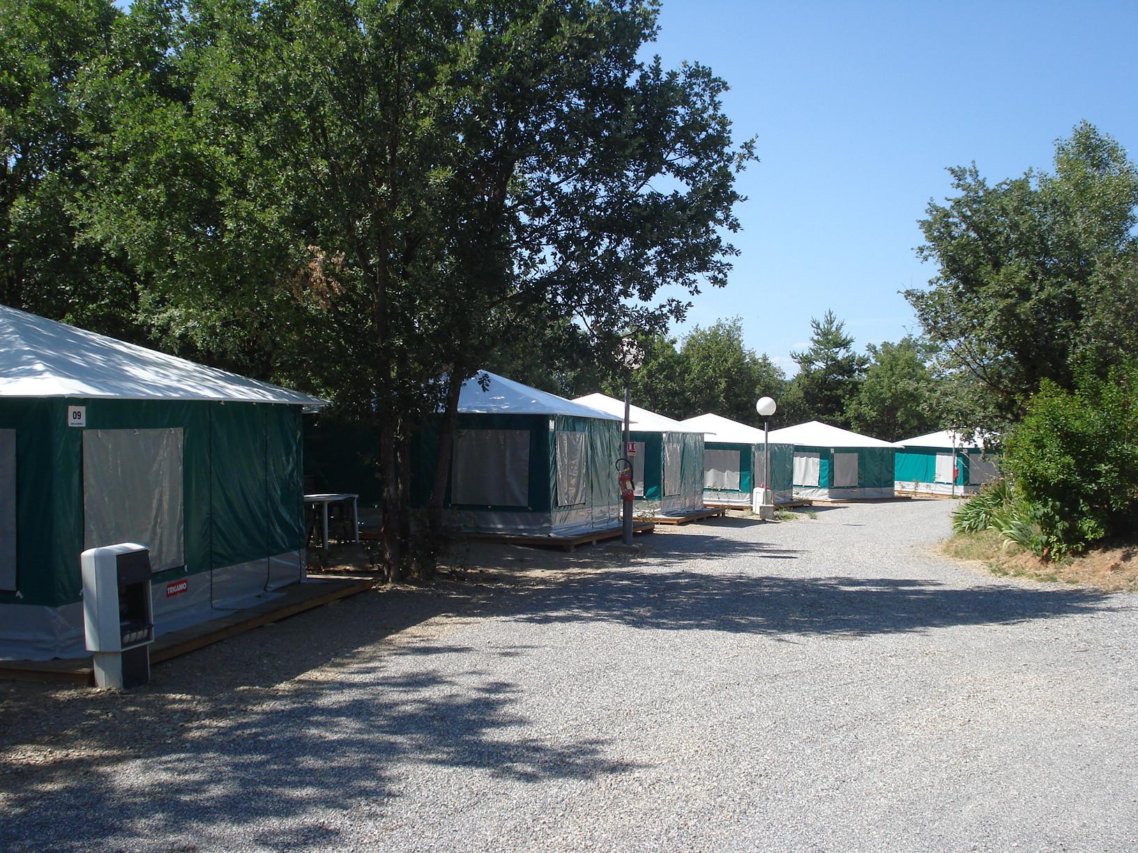 Camping Le Lac à Bauduen - Hébergement 4